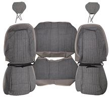 Mustang Acme Sport Seat Upholstery Titanium Gray Cloth (1992) Coupe