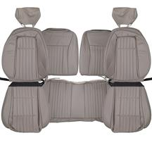Mustang Acme Vinyl Seat Upholstery - Sport Seats  - Titanium Gray (1992) Hatchback