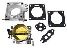 Mustang Accufab 70mm Throttle Body & Egr Spacer Polished  (86-93) 5.0