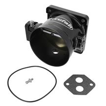 Accufab Mustang 90mm Throttle Body  - Black (86-93) 5.0 F90BK