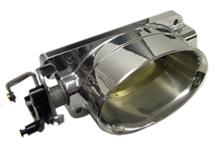 Accufab Mustang Single Blade Elliptical Throttle Body Polished (96-01) Cobra/Bullitt CTB96-98