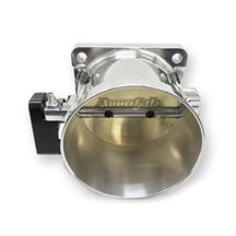 Mustang Accufab 90mm Throttle Body Polished  (86-93) 5.0
