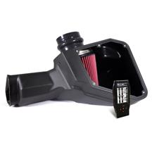 Mustang Airaid Cold Air Intake & Tuner Kit Red Filter (15-17) 5.0