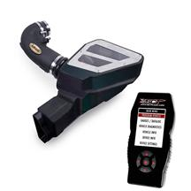 Mustang Airaid Cold Air Intake & Tuner Kit Black Filter (15-17) 5.0