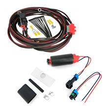 Mustang Aeromotive Stealth 340 LPH Fuel Pump & Heavy Duty Wiring Kit (86-97)