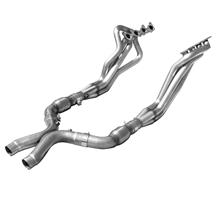 "Mustang American Racing Headers 1 3/4"" Long Tube System w/ Cats (11-14) 5.0"