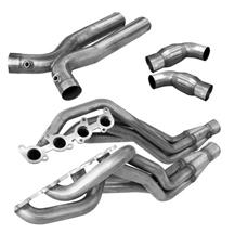 "Mustang American Racing Headers Bottle Neck Eliminator X-Pipe System - 1 3/4"" - Catted (15-17)"