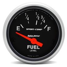 "Mustang Auto Meter Sport Comp Fuel Level Gauge  2 1/16"" (87-97)"