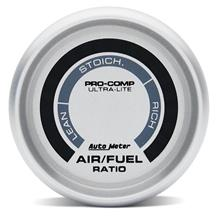 Autometer  Ultra-Lite Narrowband 2-1/16 Air/Fuel Ratio Gauge