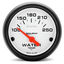 Autometer  Phantom Coolant Temp Gauge - 2 1/16""