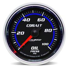Autometer Cobalt Oil Pressure Gauge, Mechanical 2 1/16""