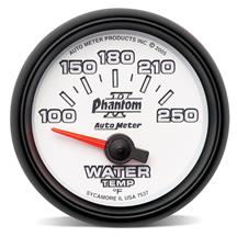 Auto Meter Phantom II Water Temp Gauge 2 1/16""