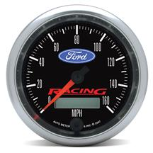 Ford Racing 0-160 MPH Speedometer - 3 3/8""