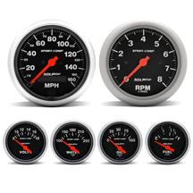 Autometer Sport Comp Gauge Kit (87-97)