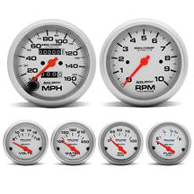 Mustang Autometer Pro-Comp Ultra-Lite Gauge Kit (87-97)
