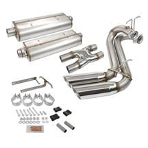 F-150 SVT Lightning Bassani Cat-Back with Dual Round Tips Stainless Steel (99-04)