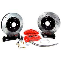 "Mustang Baer 14"" Pro Plus Front Brake System  - Red (05-14)"