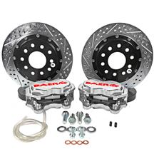 "Mustang Baer Front SS4+ Drag Race Brake System - 11.62""  - Clear (15-18)"