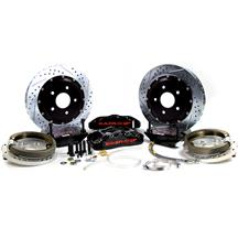 "Mustang Baer Pro Plus Rear Brake System - 6 Piston - 14""  - Black (05-14)"