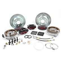 "Mustang Baer SS4 Rear Brake Kit - 4 Piston - 12""  - Black (94-04)"