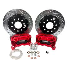 "Mustang Baer Rear SS4+ Drag Race Brake System - 11.62""  - Red (15-18)"