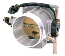 Mustang BBK 70mm Throttle Body Satin  (86-93) 5.0