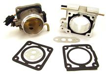 F-150 SVT Lightning BBK  70mm Throttle Body And Spacer Kit Satin (93-95) 5.8