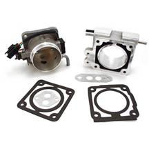 F-150 SVT Lightning BBK  70mm Throttle Body And Spacer Kit  - Satin (93-95) 5.8
