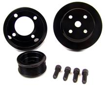 Mustang BBK Underdrive Pulley Kit Black (79-93) 5.0