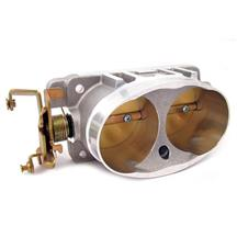 BBK  Mustang Twin 65mm Throttle Body Satin (03-04) Cobra 17110