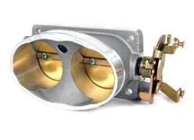 BBK  Mustang Twin 65mm Throttle Body Satin (96-01) Cobra/Mach 1 1711