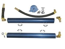 Mustang BBK High Flow Aluminum Fuel Rails (86-93) 5.0