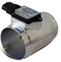 BBK Mustang 76MM Billet Mass Air Meter For 19LB Injectors - Fenderwell Cold Air Intake (89-93) - 5.0 80025