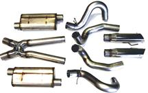 "Mustang Bassani 3"" Race After-Cat Exhaust System (99-04)"