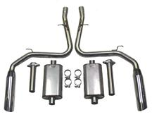 "Mustang Bassani 2.5"" Catback Exhaust Stainless (99-01)"