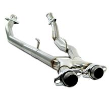 Mustang Bassani Off Road X-Pipe Stainless Steel  (86-93) 5.0