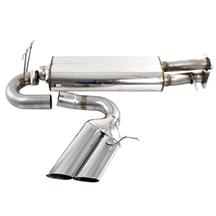 F-150 SVT Lightning Bassani Catback Exhaust - Forward Exit Stainless (93-95) 5.8