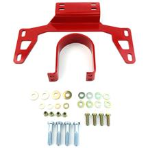 Mustang BMR Driveshaft Safety Loop Red (11-14)