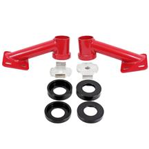 Mustang BMR Cradle Bushing Lockout Kit - Level 2  - Red (15-20)