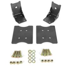 Mustang BMR Lower Torque Box Reinforcement Kit  - Black Hammertone (79-04)
