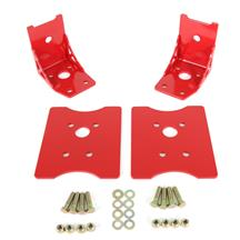 Mustang BMR Lower Torque Box Reinforcement Kit  - Red (79-04)