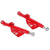 Mustang BMR Single Adjustable Rear Lower Control Arms  - Red (79-98)