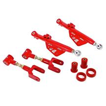 Mustang BMR Single Adjustable Control Arm Kit  - Red (79-98)