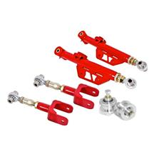 Mustang BMR On-Car Adjustable Control Arm Kit  - Red (79-98)
