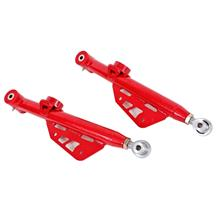 Mustang BMR Single Adjustable Rear Lower Control Arms  - Red (99-04)