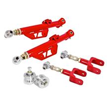 Mustang BMR On-Car Adjustable Control Arm Kit  - Red (99-04)