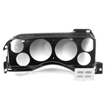 Mustang Classic Dash Instrument Panel  - Carbon Fiber (87-89)