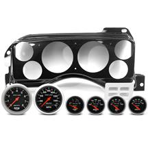 Mustang Classic Dash Instrument Panel & Autometer Gauge Kit  - Carbon Fiber (87-89)