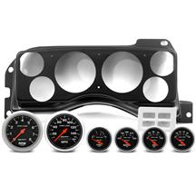 Mustang Classic Dash Instrument Panel & Autometer Gauge Kit  - Matte Black (87-89)