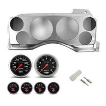 Mustang Instrument Panel & Gauge Kit Brushed Aluminum (87-93)